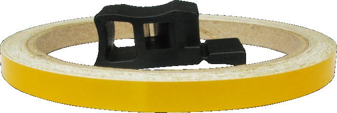 Friso de Roda Refletivo Orbital 7 mm - Cores