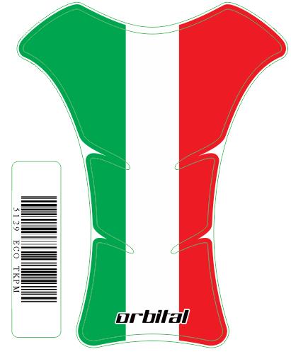 Tank Pad Medio Bandeira Itália- Orbital