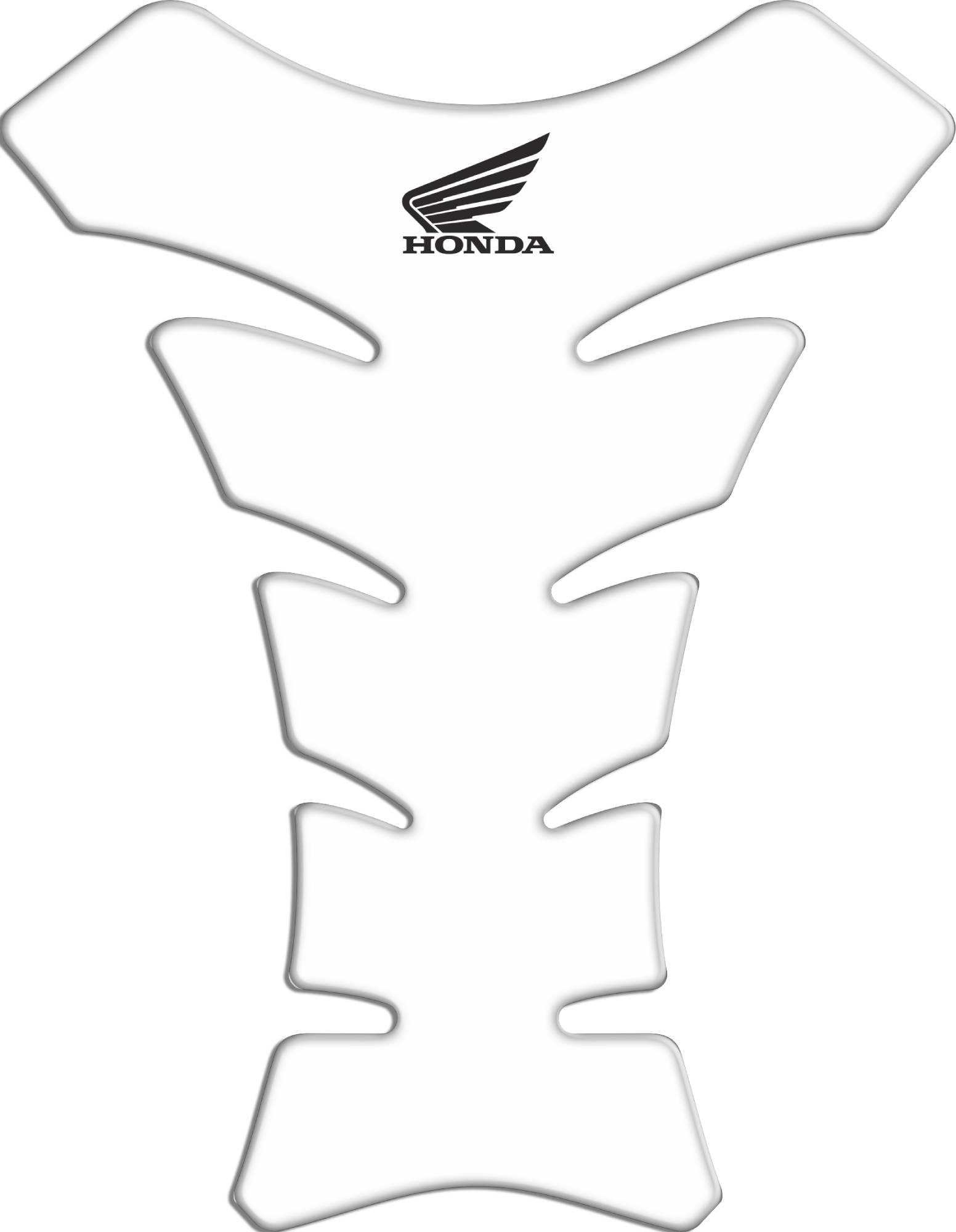 Tank Pad Race Honda Logo - Orbital