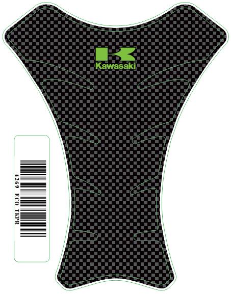 Tank Pad Race Logo Kawasaki- Orbital