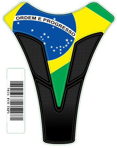 Tank Pad Sport Bandeira Brasil - Orbital