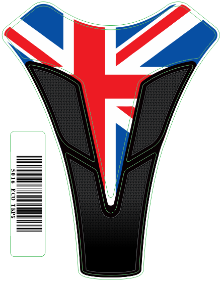 Tank Pad Sport Bandeira Inglaterra - Orbital