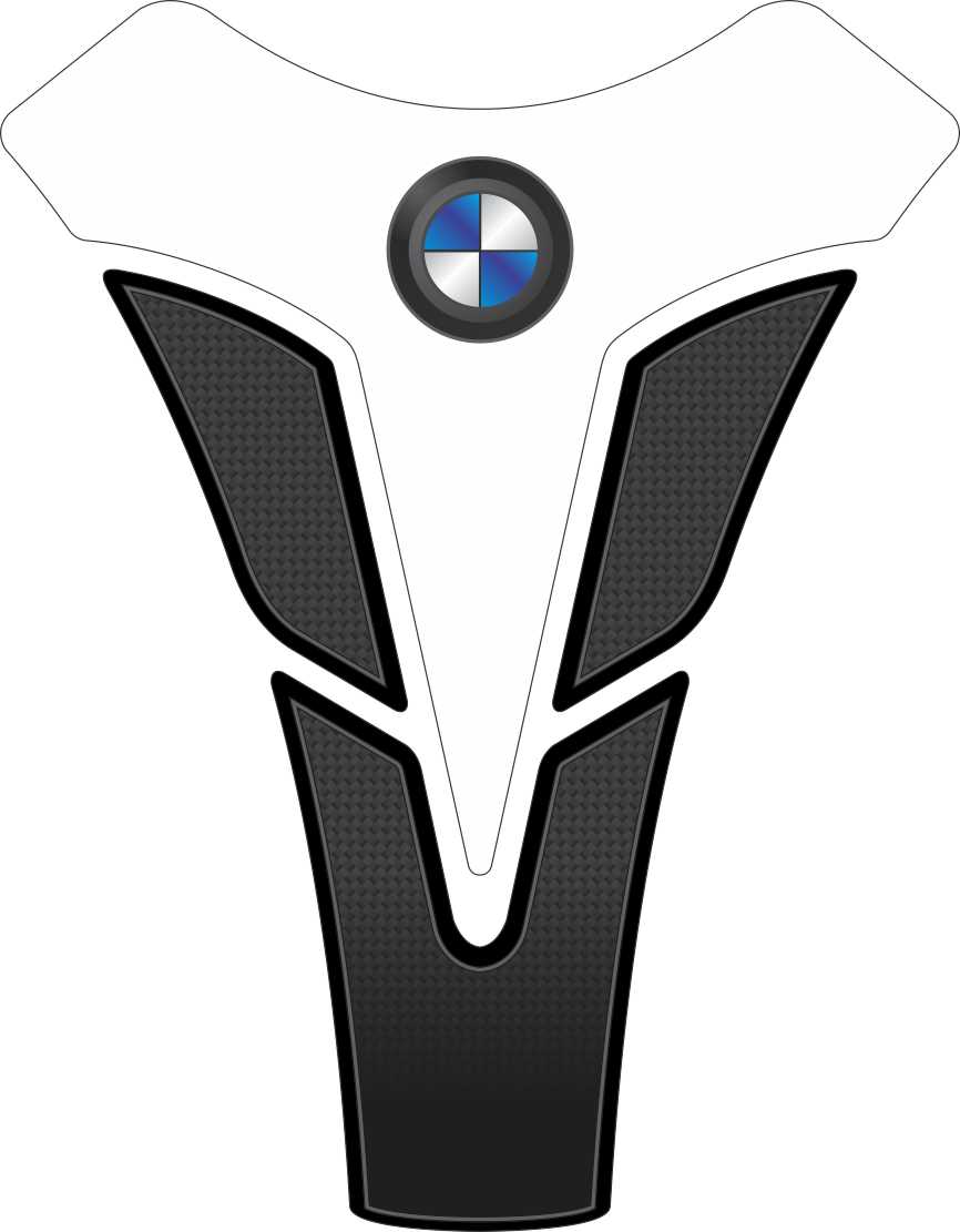 Tank Pad Sport Logo  BMW - Orbital