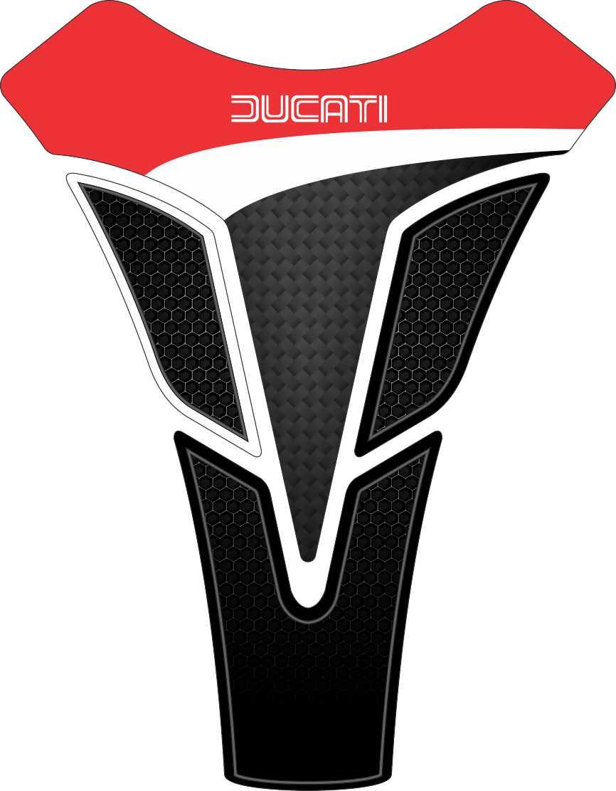 Tank Pad Sport Logo Ducati - Orbital