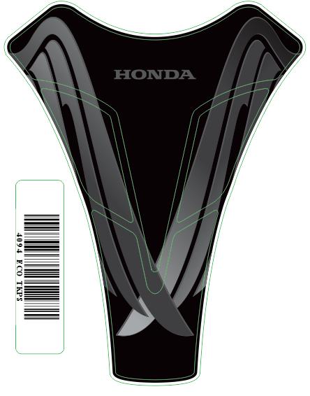 Tank Pad Sport Logo Honda - Orbital
