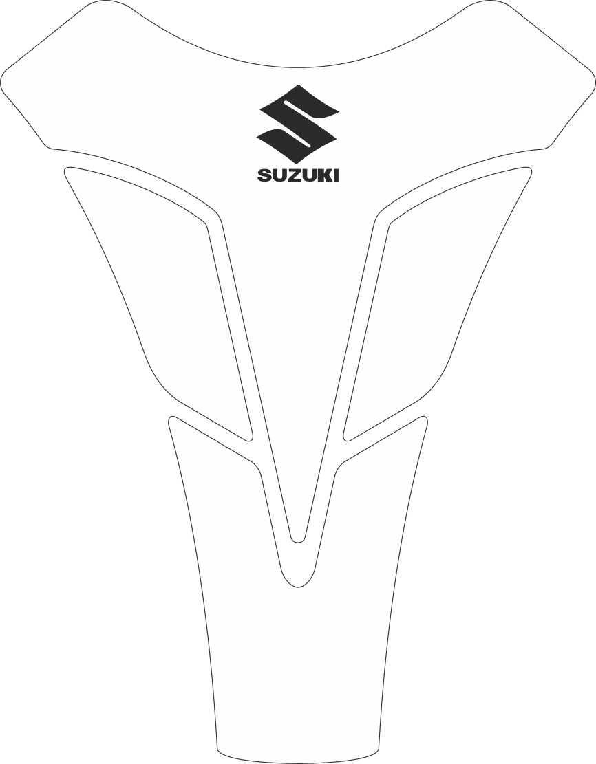Tank Pad Sport Logo Suzuki  - Orbital