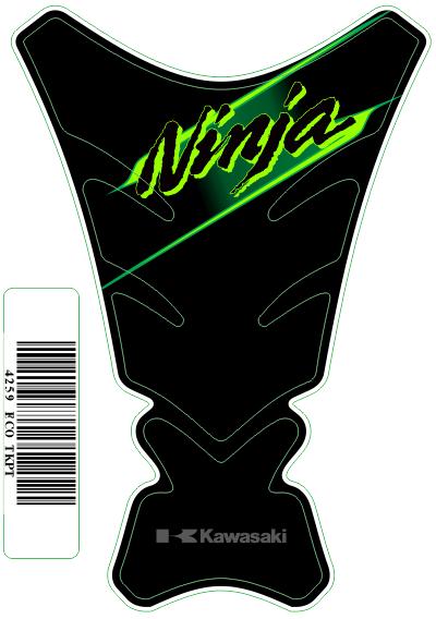 Tank Pad Tech Logo  Kawasaki Ninja - Orbital