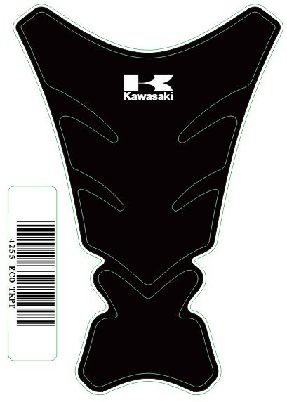 Tank Pad Tech Logo  Kawasaki - Orbital