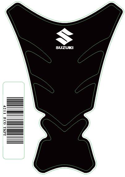 Tank Pad Tech Logo Suzuki- Orbital