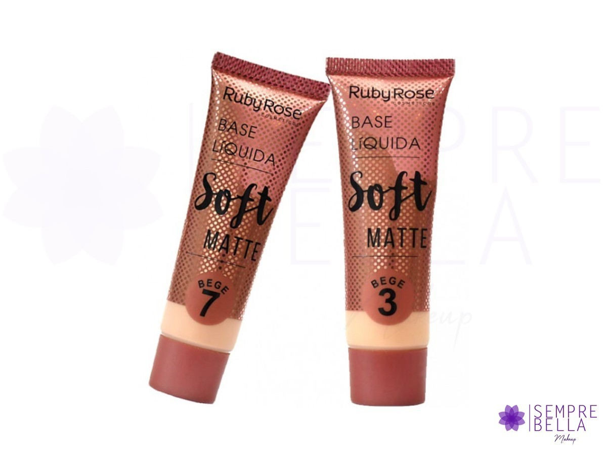 Base Soft Matte - Ruby Rose
