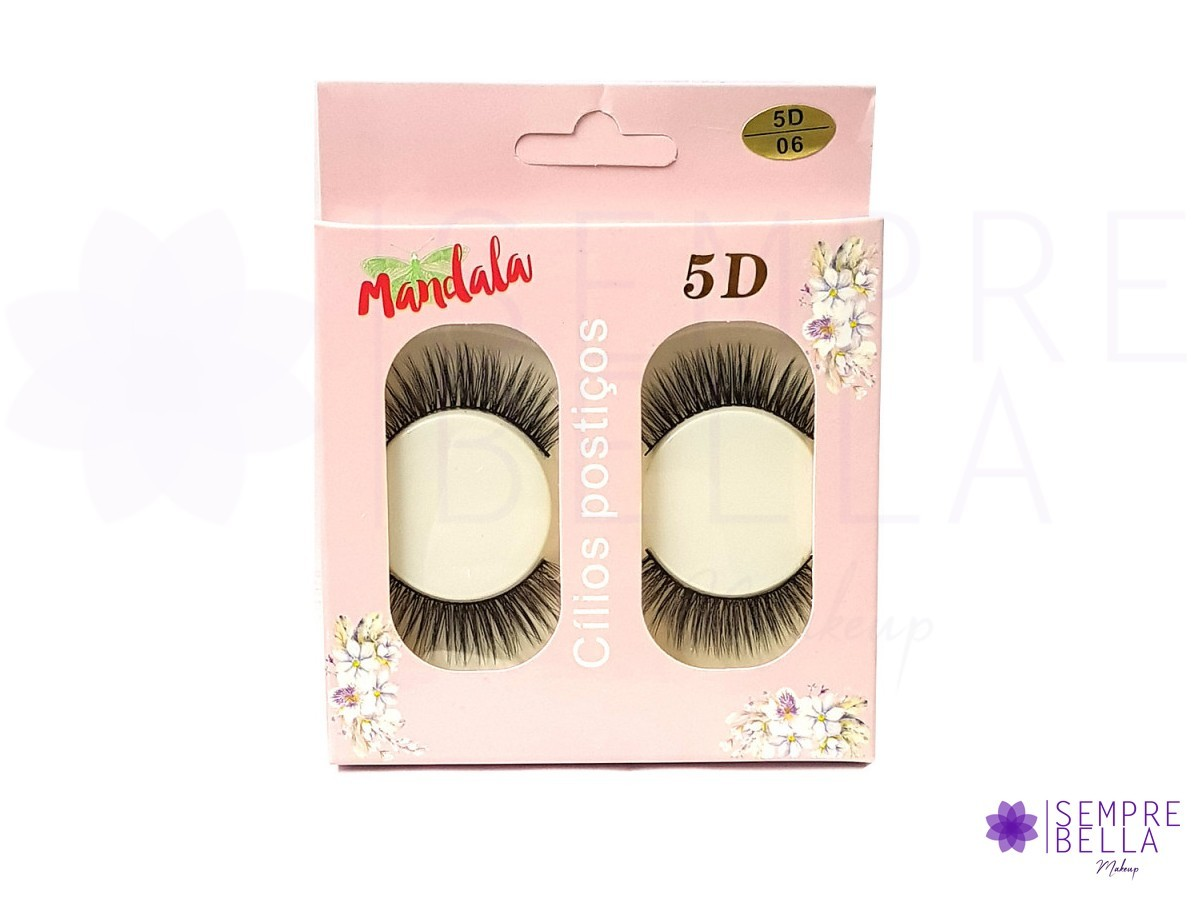 Cílios postiços 5D - Mandala (06)