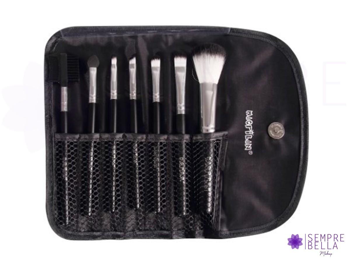 Kit de Pinceis para Maquiagem (KP1-3E) - Macrilan