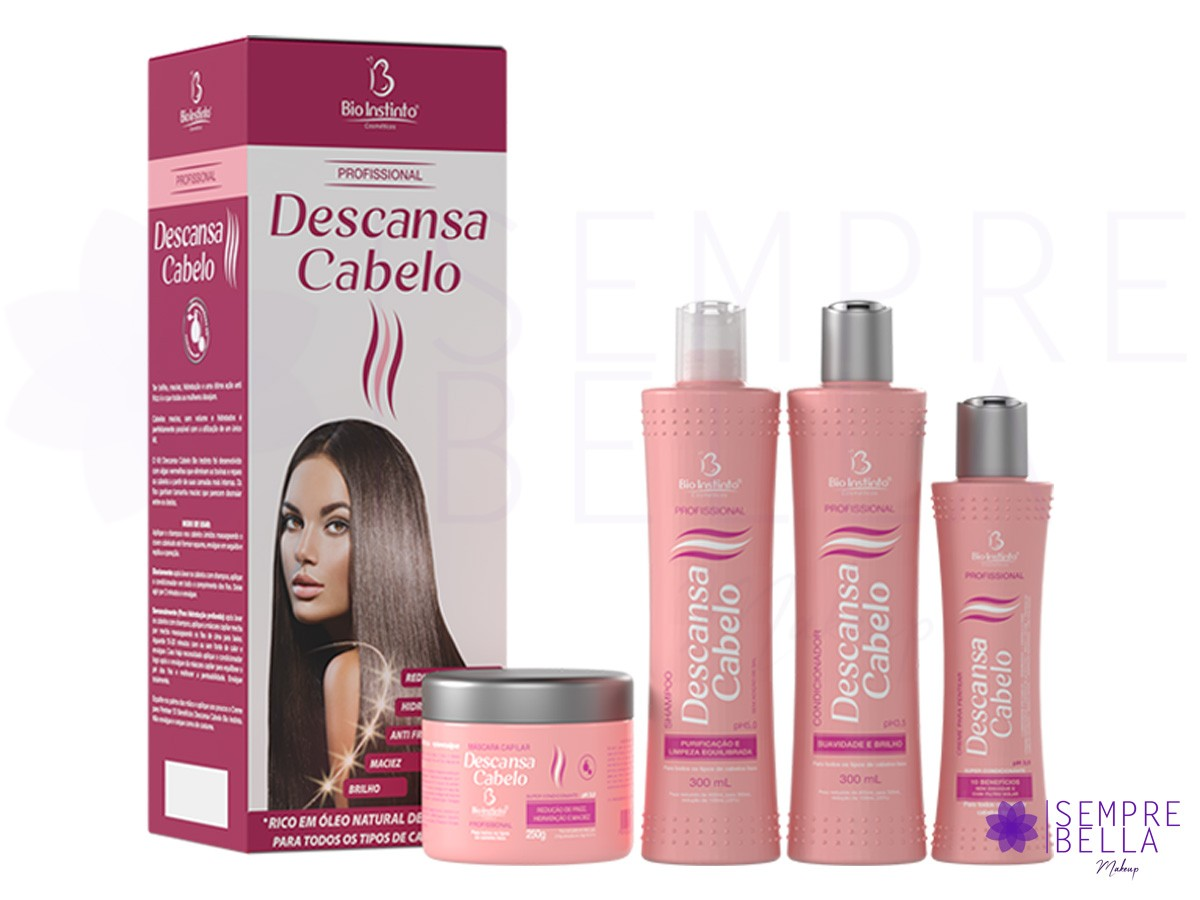 Kit Descansa Cabelo (Profissional) - Bio Instinto
