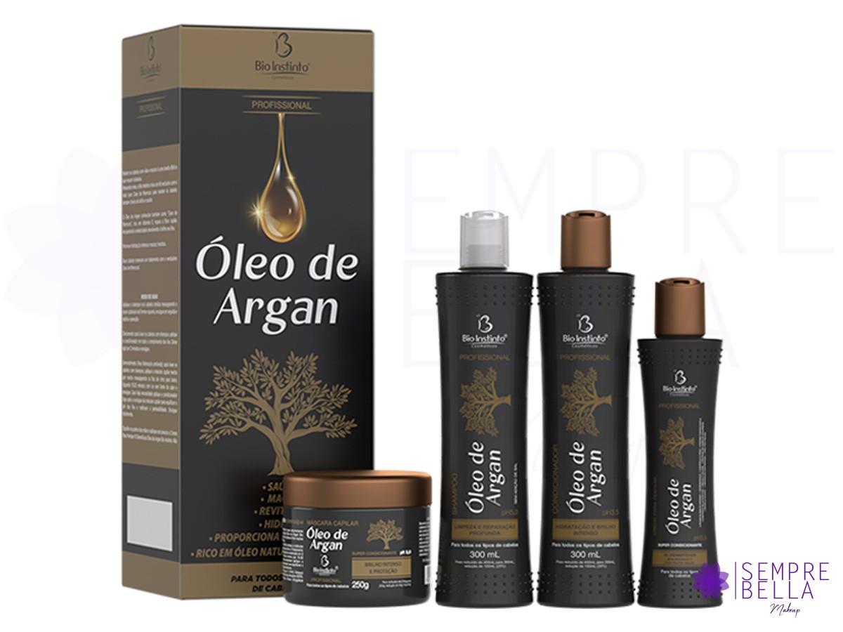 Kit Óleo de Argan - Bio Instinto