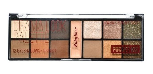 Paleta de Sombra Pocket Drama Look - Ruby Rose