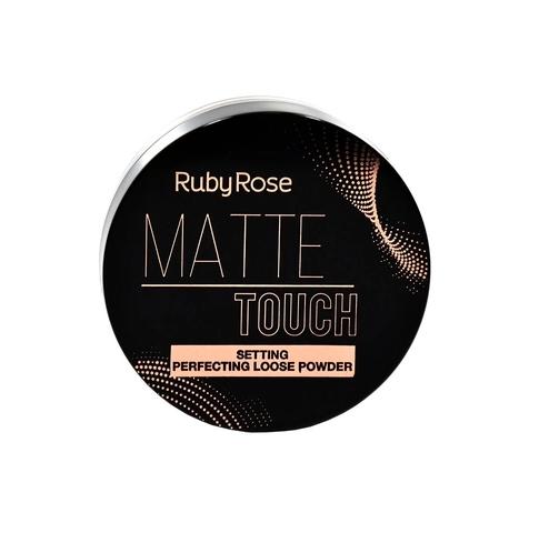 Pó Solto Matte Touch Neutro Médio - Ruby Rose