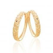 2 Aparadores Em Ouro 18k Diamantado Feminino