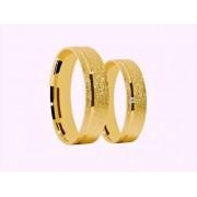 Aliança De Casamento e Noivado Confort Em Ouro 18k 750