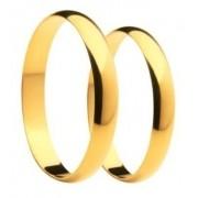Aliança De Casamento E Noivado Em Ouro 18k