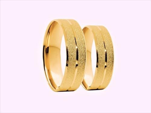 Aliança de Casamento Confort Em Ouro 18k 750