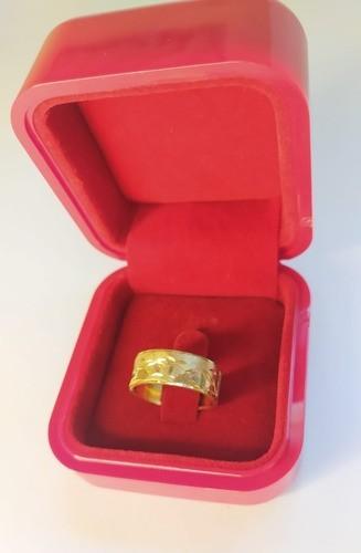 Aliança Escrava Egípcia Light Com 7mm Em Ouro 18k 750