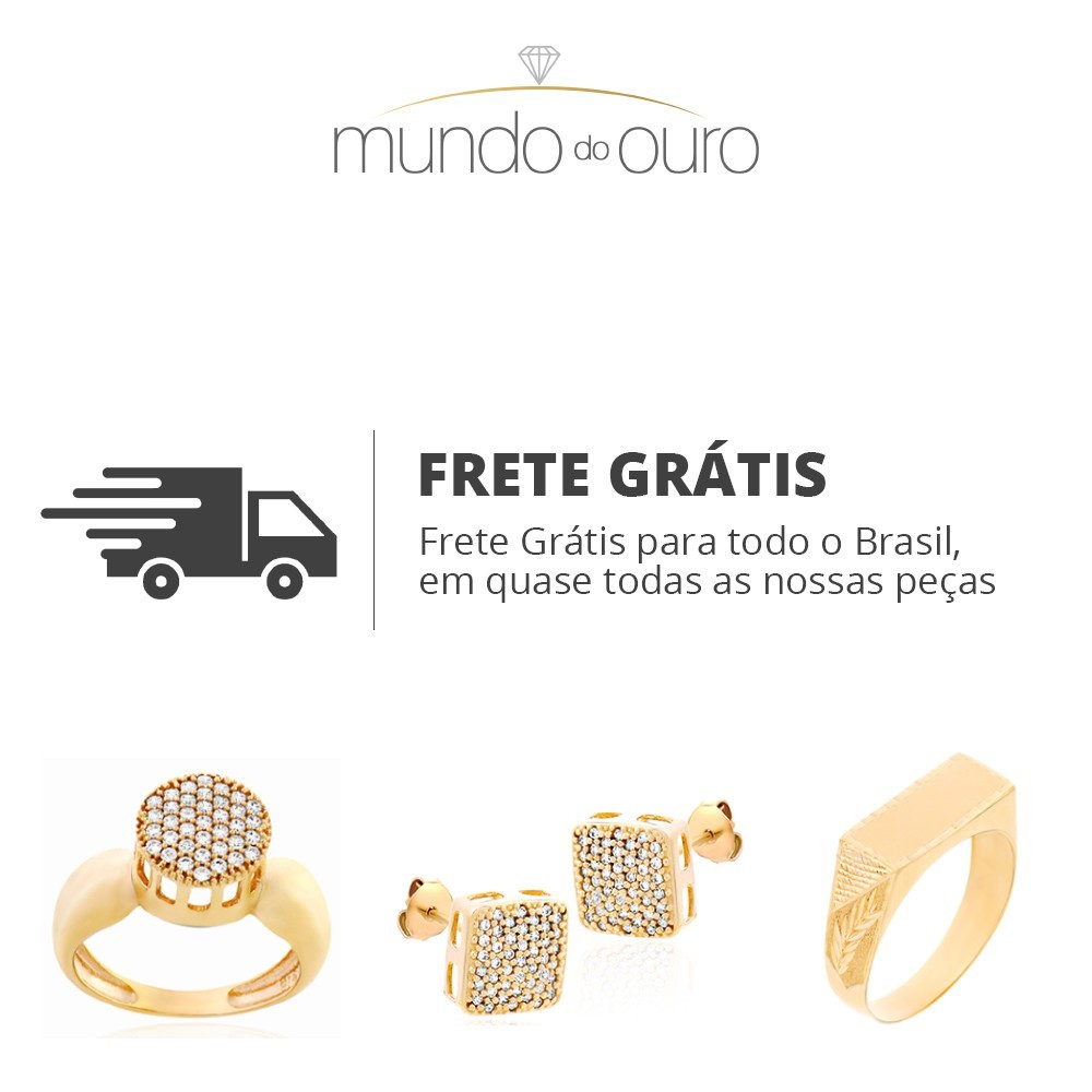 Anel Life Ouro 18k