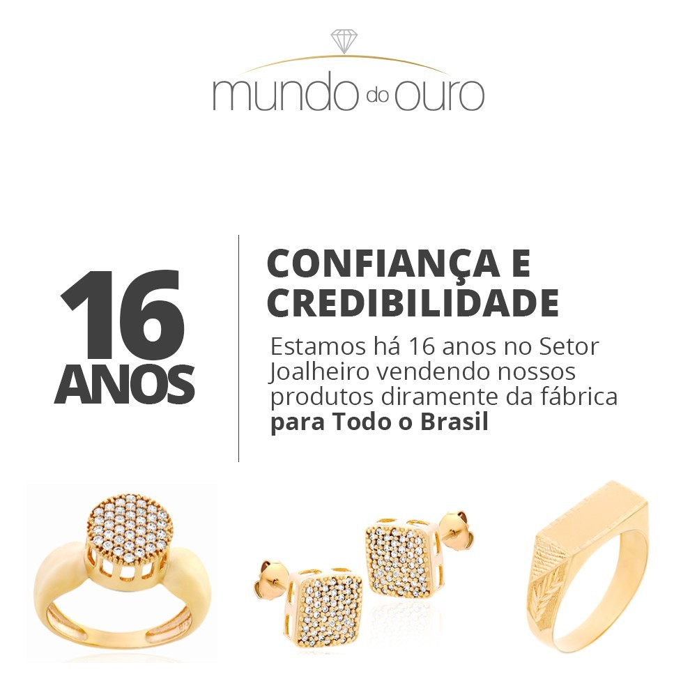 Kit 1x Aliança De Casamento Em Ouro 18k 750