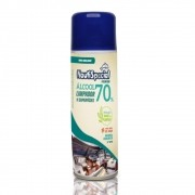 ÁLCOOL 70% LIMPADOR DE SUPERFICIE SPRAY 300ml NAUTISPECIAL