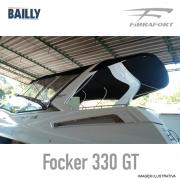 Capota de Popa BAILLY Fibrafort Focker 330 GT Linha Clássica
