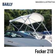 Capota Náutica Fibrafort Focker 210  Linha econômica