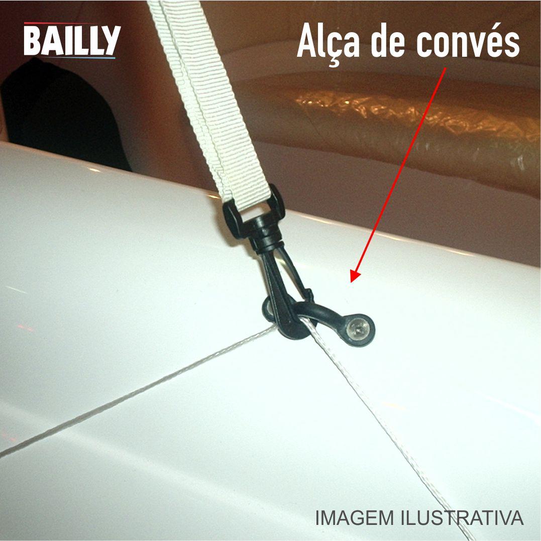 ALÇA DE CONVÉS AÇO INOX ARAME
