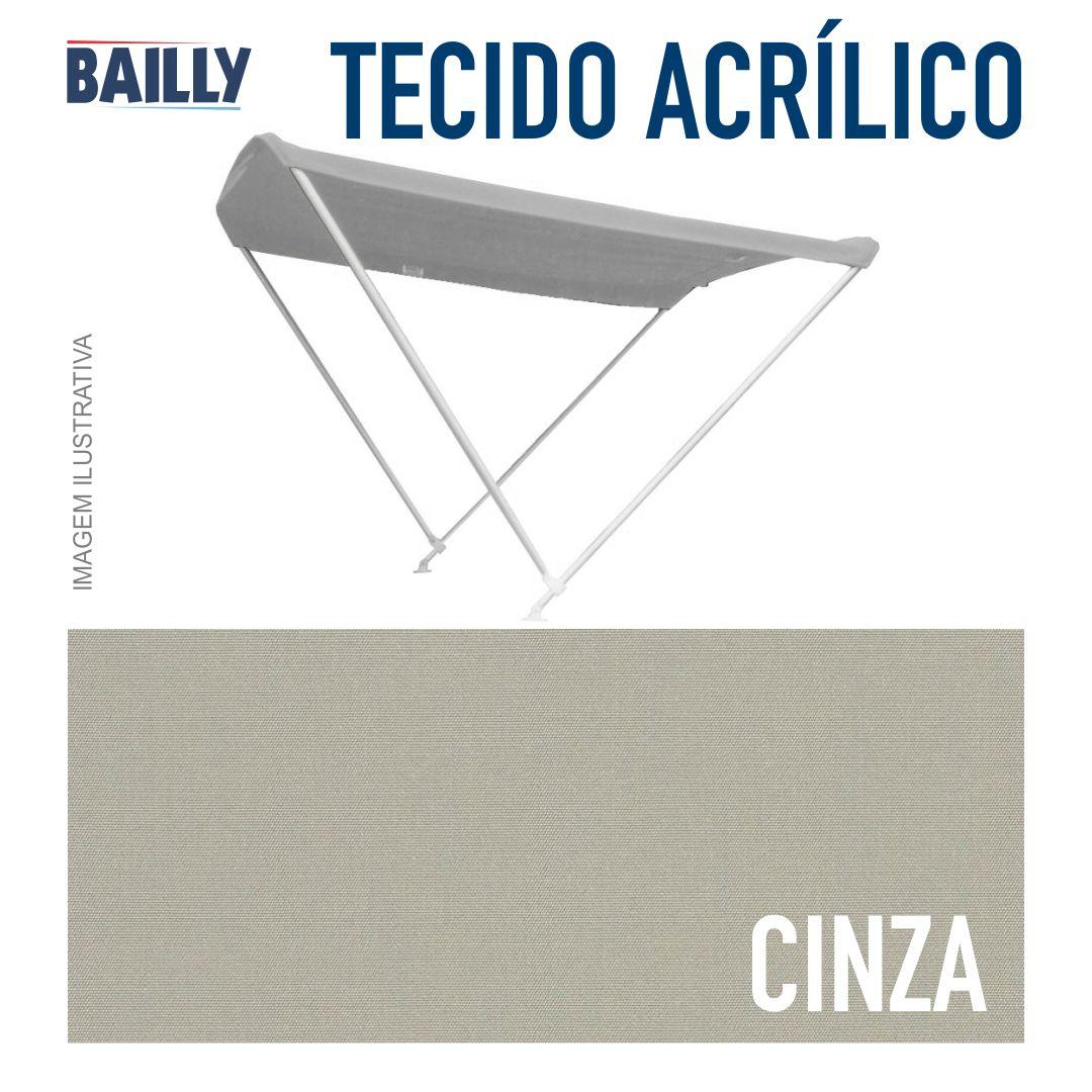 Capota Náutica BAILLY Linha Clássica 2 Arcos com 1,50 m de largura