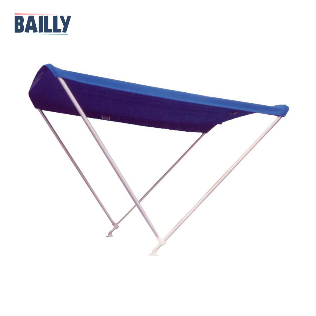 Capota Náutica BAILLY – Linha clássica de 2 arcos