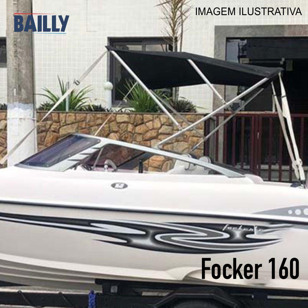 Capota Náutica Fibrafort Focker 160 – Linha econômica