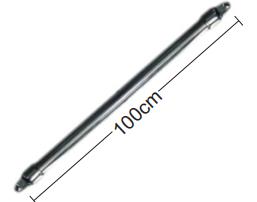 """TIRANTE RíGIDO AÇO INOX 1"""" - PAR - 100 cm"""