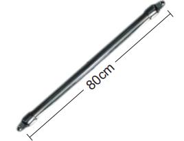 """TIRANTE RíGIDO AÇO INOX 1"""" - PAR - 80 cm"""