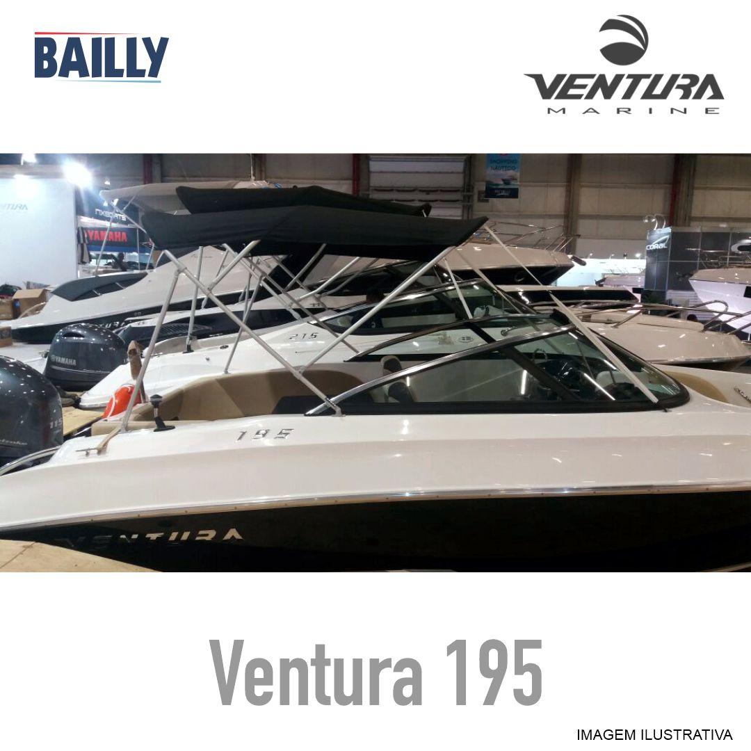 VENTURA 195 - CAPOTA BASICA 3 ARCOS - LINHA ECONOMICA
