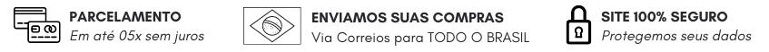 Banner Régua - Parcelamento, Envio, Segurança
