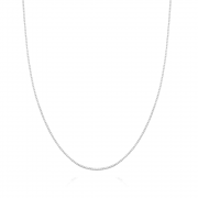 Corrente de Prata Veneziana 50 cm