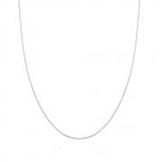 Corrente de Prata Veneziana Fininha 40 cm