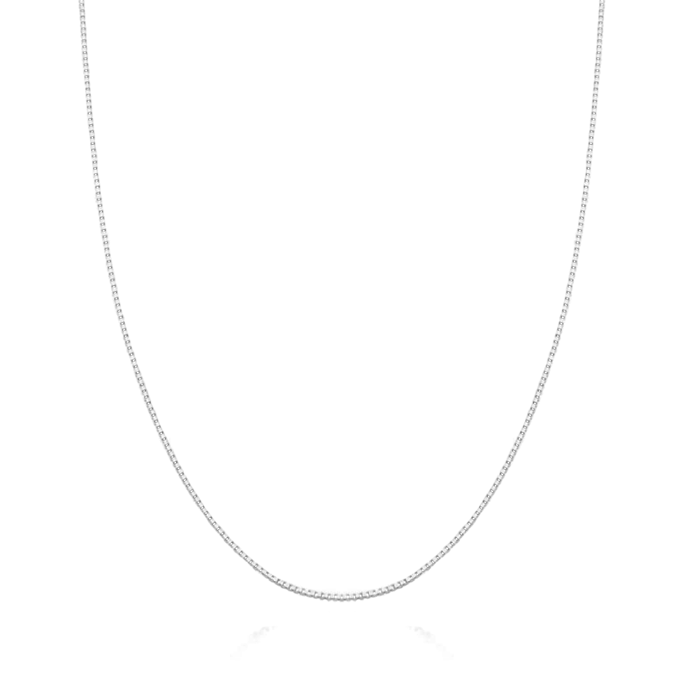 Corrente de Prata Veneziana 60 cm