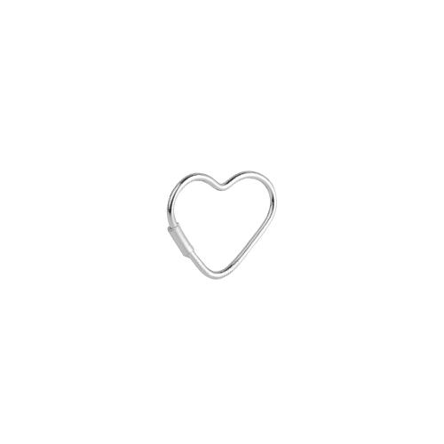 Piercing Coração em Prata