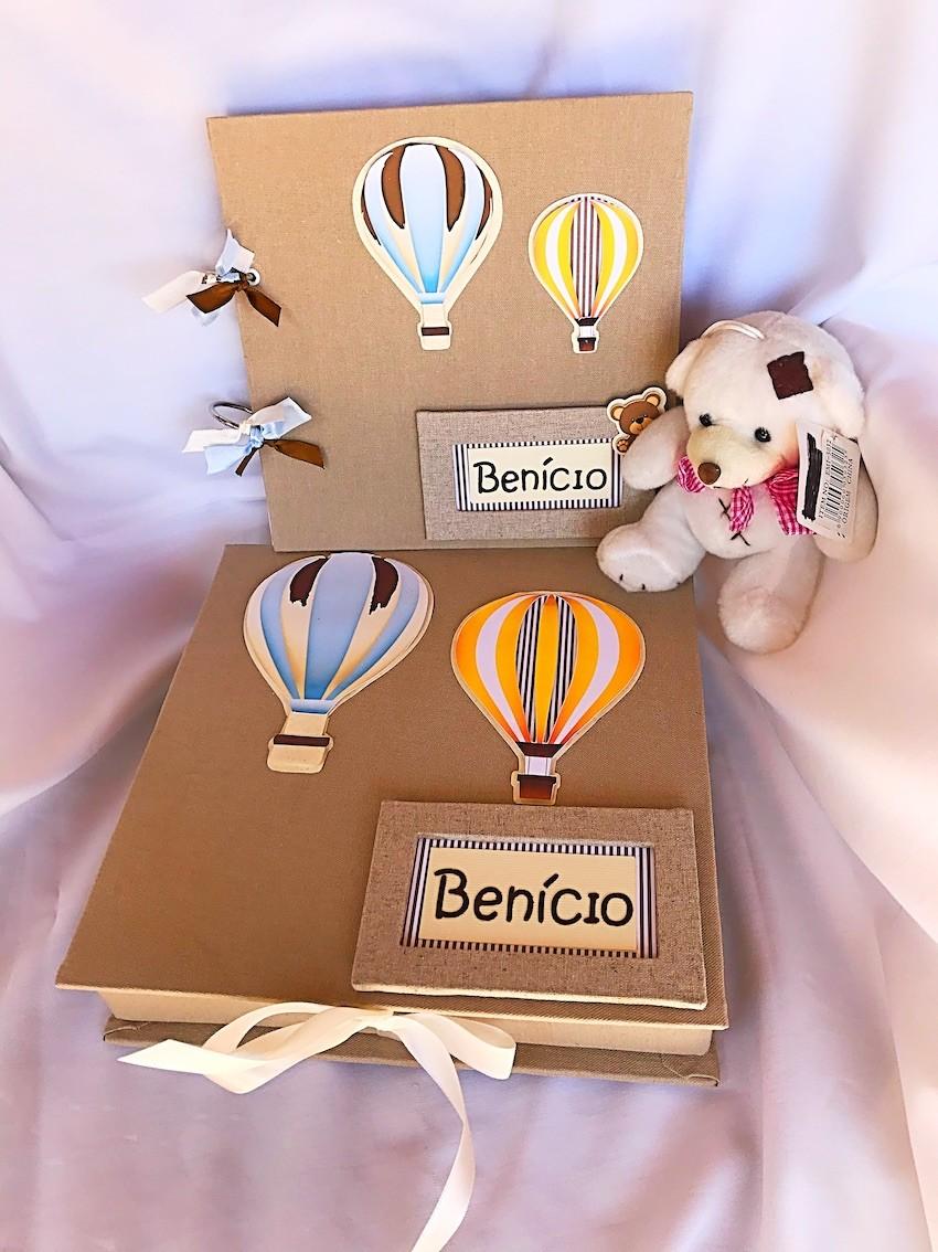 Álbum Balões + Caixa