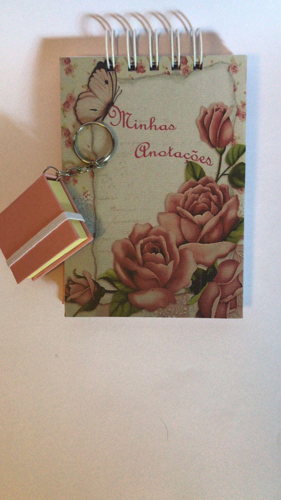 Bloco de Anotações Flor