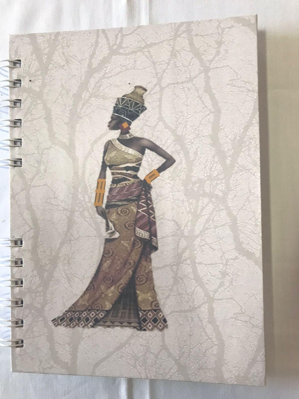 Caderno A5 - Coleção Africana