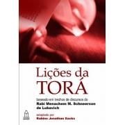 Lições Da Tora Capa comum