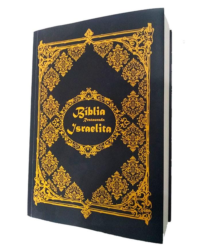 Bíblia Israelita completa 3ª Edição C/preta