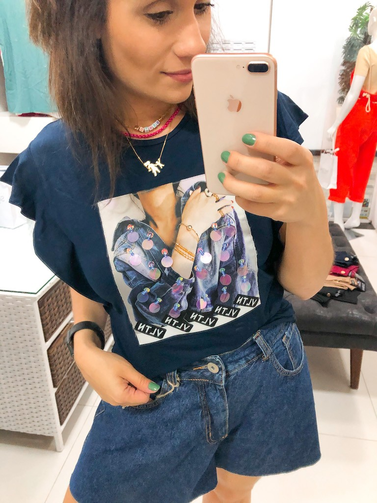 Camiseta Glam Jeans