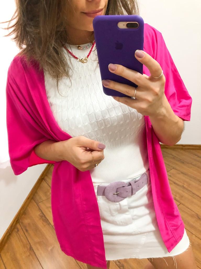 Kimono liso