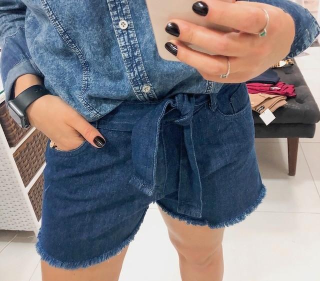 Shorts cinto